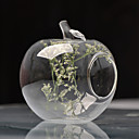 Table Centerpieces Apple Shaped Glass Vase  Table Deocrations