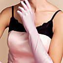 Elbow Length Fingertips Glove Spandex Bridal Gloves