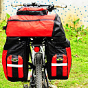 FJQXZ 600D Polyester 70L Large Capacity Waterproof Red Bike/Bicycle Bag