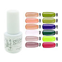 YeManNvYou®Sequins UV Color Gel Nail Polish No.85-96 (5ml, Assorted Colors)