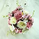 Superb Free-form Satin Wedding Bouquet