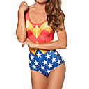 Wonder Woman Spandex Damen Badeanzug