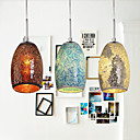 SL® Decoration Pendant, 1 Light, Tiffany Resin Glass Painting Processing