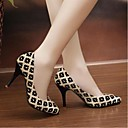 Women's Shoes Pointed Toe Stiletto Heel Knit Style OL Pumps Shoes More Colors available