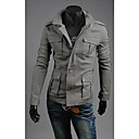 Men's Long Sleeve Jacket , Others Casual/Work/Sport Pure