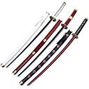 één stuk Roronoa zoro Sandai kitetsu / wado ichimonji / shuusui cosplay zwaard (3 zwaarden / set)