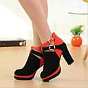 naisten kengät platform paksu kantapäät mokka pumput kengät enemmän värejä
