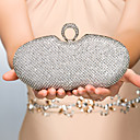 Metal Wedding/Special Occasion Clutches/Evening Handbags With Rhinestones(More Colors)