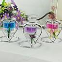bruiloft decor hartvorm kandelaar meer kleuren (1 stuk / stuk)
