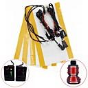 Kit calentador de asiento de fibra de carbono conmutador de 5 posiciones para toyota prado corolla rav4 reiz yaris etc (dos asientos instalar)