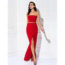 Prom / Military Ball / Formal Evening Dress - Ruby Plus Sizes / Petite Sheath/Column Strapless Floor-length Jersey
