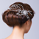 Women's Alloy/Cubic Zirconia Headpiece - Wedding/Special Occasion Hair Pin/Flowers