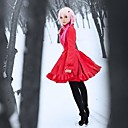 Guilty Crown Inori Yuzuriha Red Dress Christmas Costume