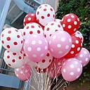 vacanza festa di nozze di punti puntini colorati caramelle-wave più spessi palloncini (50pcs)