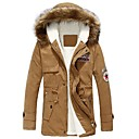 moda casaco casual dos homens