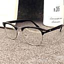 [gratis linser] metall browline full rim retro resept briller