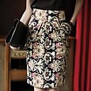 Women's Restore Ladies Casual Floral Printed Pencil Skirt