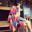 Women's Fashion All-Matching Contrast Color Grid Pattern Shawls(More Colors)