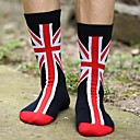 Men's Cotton National Flag Stripe Sport Socks