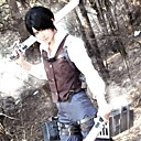 - Attack on Titan - Levy - mit Weste/Shirt/Hosen