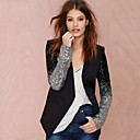 Women's Black Blazer , Casual Long Sleeve