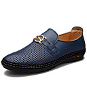 Men's Shoes Round Toe Low Heel Leather Oxfords Shoes More Colors available