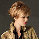 High Quality Capless Short Straight  Mono Top  Virgin Remy  Human Hair Wigs 12 Colors to Choose