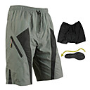 Santic-Mens' Cycling Shorts/baggy shorts with underwear Quick Dry with 3D Pad