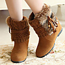 Women's Shoes Fashion Boots Round Toe Wedge Heel Ankle Boots More colors available