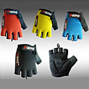 Qepae Cycling Half Finger Lycra Anti-skid Bicycle Gloves