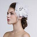Stof/Net Vrouwen Helm Bruiloft/Speciale gelegenheden/Casual Bloemen Bruiloft/Speciale gelegenheden/Casual 1 Stuk