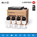 Cotier®4CH 1U NVR kits 720P/960P/1080P/Plug and Play/ONVIF IP Camera N4BM/Kit