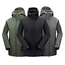 Men's Softshell Jacket Waterproof Warm Insulation Jacket