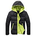 Men's Hoodie / Coats & Jackets , Polyester Long Sleeve Casual / Work Zipper / Fashion Winter / Spring / Fall D.B.L