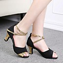 Zapatos de baile (Rojo/Plata/Oro) - Danza latina/Salsa - Personalizados - Tacón Personalizado