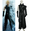 Final Fantasy VII 7 Cloud Deluxe Black Cosplay Costume