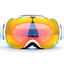 basto winddicht wit frame geel sensor skiing sneeuw bril