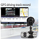 2.7 Inch LCD Dual Camera Lens Car Dash DVR Cam Camcorder Recorder GPS