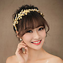 Golden Olive leaves Headband for Wedding Party Jewelry