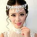 splendidi cristalli chiari sposa fascia di nozze / copricapo