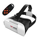 caja vr móviles gafas 3D de realidad virtual casco espejo tormenta Kotaku con mando a distancia