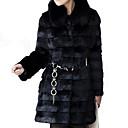 Женское элегантное пальто из искусственного