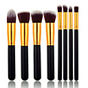 8pcs Brush Sets Syntetisk Hår Ansigt / Lip / Øjne