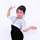 Tops (Bleu / Fuchsia / Violet / Rouge / Argent , Paillété , Costumes de Pom-Pom Girl / Danse moderne / Jazz / Spectacle)Costumes de