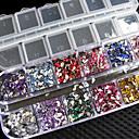¡¡¡nuevo!!! 3000 PC mezclan la decoración hermosa del clavo de los brillos del deco de los rhinestones de las gemas de la etiqueta