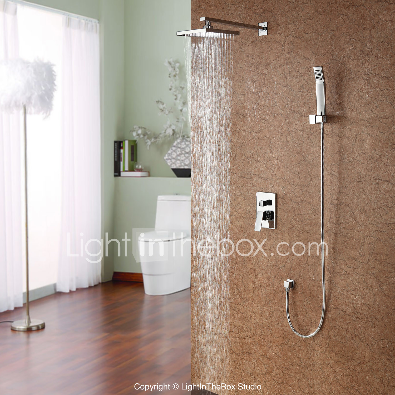 shower faucet with 8 inch shower head hand shower
