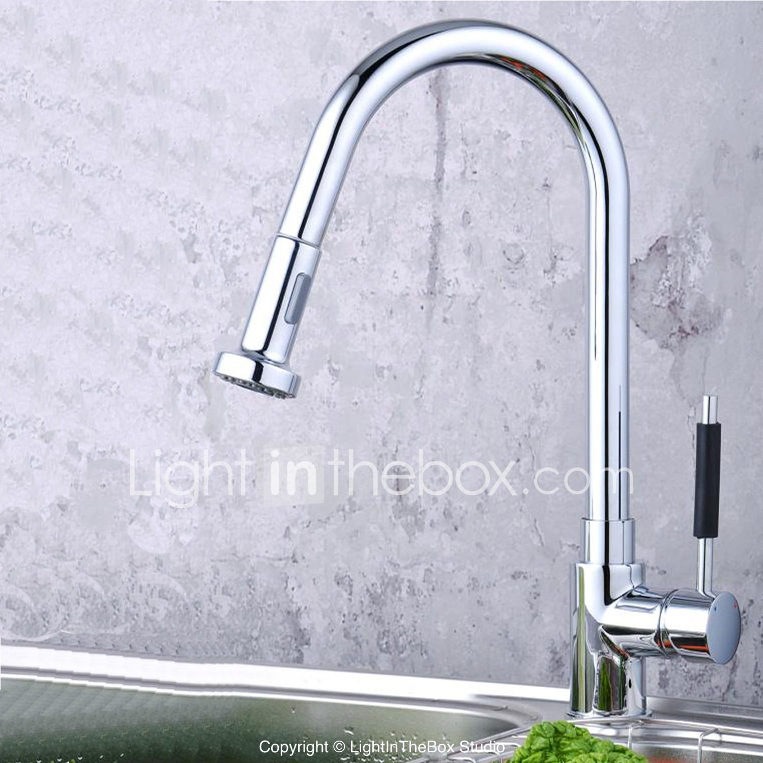 kitchen faucets discount kitchen faucets Traditional Pull out Pull down Deck Mounted Pullout Spray with Ceramic Valve Single
