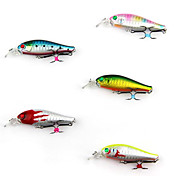 Hard Bait Minnow 60MM 6G Floating Plastic Fishing Lure
