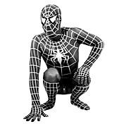Ternos Zentai Morphsuit Super-Heróis Aranhas Fantasias de Filme e Tema de TV Fantasia Zentai Fantasias de Cosplay PretoEstampado