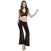 dancewear kristalima pamuk izvlačenja trbuh odjeća za dame više boja